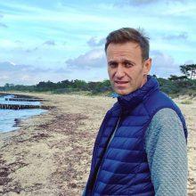 Rusijos medikai: A. Navalnui – kasos uždegimas, apnuodijimo požymių nerasta