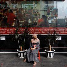 Indonezijoje COVID-19 atvejų skaičius perkopė pusę milijono