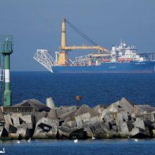"""""""Nord Stream 2"""" tiesimą planuojama atnaujinti ir Danijos vandenyse"""