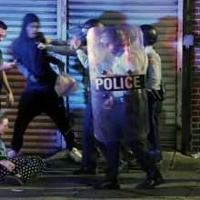 Filadelfijoje policininkai nušovė juodaodį, kilo protestai