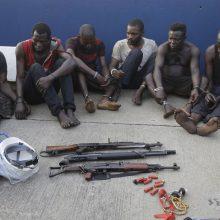 Prie Nigerijos krantų piratai vėl užpuolė tanklaivį