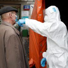 Lenkijoje – nauji užsikrėtimo COVID-19 ir mirties atvejų rekordai