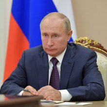 V. Putinas pasveikins naująjį JAV prezidentą, kai bus baigtos visos oficialios procedūros