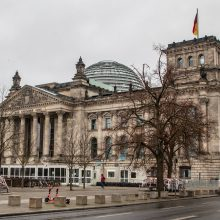 Po Kapitolijaus šturmo Vokietija ruošiasi stiprinti Bundestago apsaugą