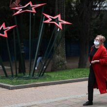 Rusijoje pastarąją parą užfiksuotas rekordinis užsikrėtimo koronavirusu atvejų skaičius
