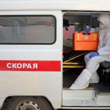 Rusijoje – 16,5 tūkst. naujų COVID-19 atvejų