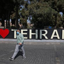 Irane fiksuojamas rekordinis mirčių nuo COVID-19 skaičius