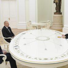 Maskvoje vyko trišalis padėties Karabache aptarimas