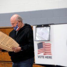Iš anksto balsavo rekordiškai daug amerikiečių