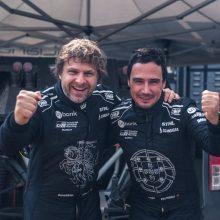 Benedikto Vanago komanda testuose lenktyniauja su laiku