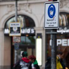 Vokietijoje per parą užfiksuota 16,7 tūkst. koronaviruso atvejų