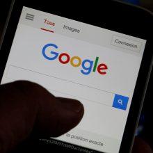 """""""Google"""" žada liautis sekti individualią veiklą internete"""