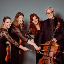 Kauno styginių kvartetas: miestui, muzikai, pasauliui