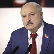 Baltarusija grasina Vakarams imtis naujų nacionalinio saugumo priemonių