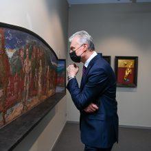 G. Nausėda sukritikavo Vyriausybę: kultūros įstaigas buvo galima atverti ir anksčiau