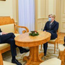I. Šimonytė užtikrinta: EVT geriau atstovautų Vyriausybės vadovas