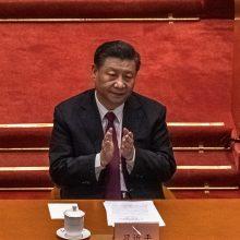 Kinijos prezidentas ragina ginkluotąsias pajėgas visada būti parengtyje
