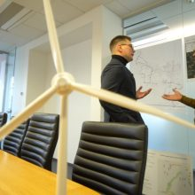 L. Pobedonoscevas aiškinsis, ar klimato kaitos problema rūpi didiesiems Lietuvos verslams
