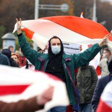Baltarusijos teismas paskelbė apkaltinamąjį nuosprendį per protestą žuvusiam žmogui