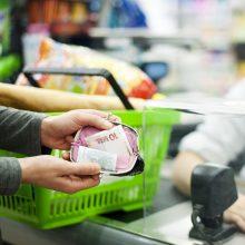 Ekonomistė: vartojimo krepšelis per pastaruosius dvidešimt metų gerokai priartėjo prie vakarietiško