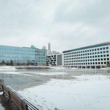 Už lango – žiemiški vaizdai