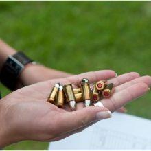 Tvarkant sodo namelį Plungės rajone, rasti du ginklai ir šoviniai