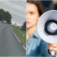 Neapsikentė avarijų Slengiuose: gyventojai ketina rengti pilietinę akciją