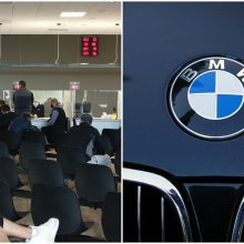 """Iš """"Regitros"""" grįžo be automobilio: pirktą BMW nuvairavo į policiją"""