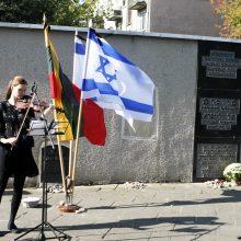 Klaipėdoje pagerbtas holokausto aukų atminimas