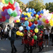 Rugsėjo 1-ąją Klaipėdoje – moksleivių puse tūkstančio daugiau nei pernai