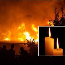 Skaudi nelaimė Skuodo rajone: gaisre žuvo vyras