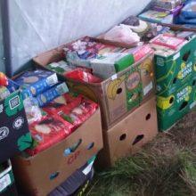 Antisanitarinės sąlygos vaikų stovykloje: maistas ruošiamas palapinėje