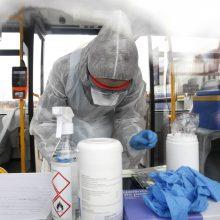 Profilaktinių koronaviruso tyrimų rezultatai Klaipėdoje: situacija nerimo nekelia
