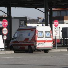 Situacija Klaipėdoje kaista: ligoninės beveik užpildytos