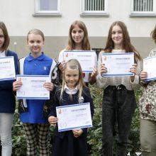 Tarptautiniame konkurse vėl įvertinti jaunųjų klaipėdiečių piešiniai