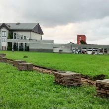 Klaipėdoje startavo Sakurų parko projektas: kainuos daugiau nei milijoną eurų