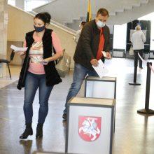 Neringiškių aktyvumas stebina: balsavo beveik pusė