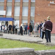 Išankstinio balsavimo atgarsiai: sistema neatlaikė krūvio, tačiau žmonės nesiskirstė