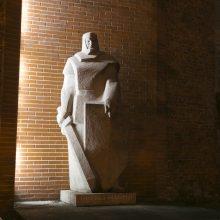 Herkui Mantui – daugiau šviesos: ketina sumontuoti modernius šviestuvus