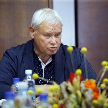 V. Grubliauskas susitiko su klaipėdiečiais Seimo nariais: aptarė miesto aktualijas