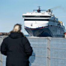 Švedijos pilietis pasiskundė, kad kelte į Klaipėdą buvo sumuštas ir apiplėštas