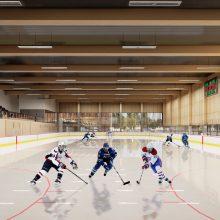 Klaipėdoje atsiras sporto ir laisvalaikio centras: ledo arena, universalios aikštelės ir čiuožykla