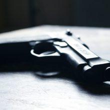 Klaipėdos rajone policija sulaikė vyrą, nelegaliai laikiusį pistoletą