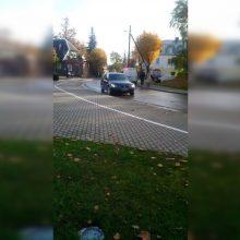 Apmaudus ruduo policijos pareigūnams: vėl pateko į avariją