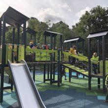 Klaipėdoje dar viena vieta vaikams: atnaujinta žaidimų aikštelė Poilsio parke