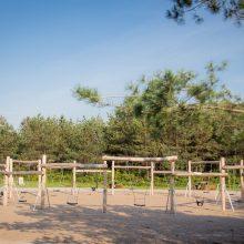Dar viena nauja poilsio erdvė Klaipėdoje: Melnragėje įkurtas parkas