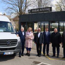 Kauno rajono, Kazlų Rūdos ir Prienų rajono vadovai atidarė bendrą viešojo transporto maršrutą