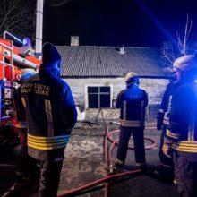 Nelaimė Jonavos rajone: per gaisrą nukentėjo du žmonės