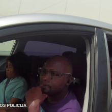 Pasienyje su Lenkija sulaikyti keturi nelegalūs migrantai: pravažiuoti bandė automobiliu