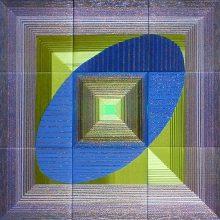 """""""AP galerijoje"""" atidaroma optinės tekstilės kūrėjos D. Brogienės paroda """"Mėlynos mintys"""""""